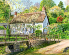 Penkestle Cottage near the Ford at Helford, Cornwall